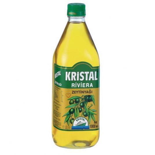 18513 Kristal Olijfolie Glas 1L