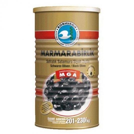 10581 Marmara Birlik Zwarte Olijven MEGA 800gr