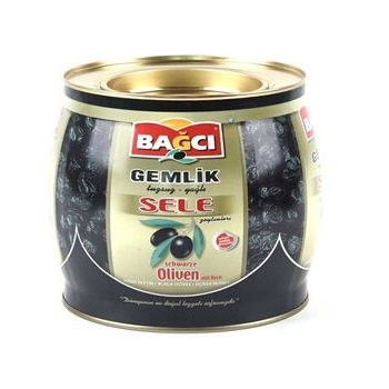 10591 Bagci Zwarte Sele Olijven 1500gr